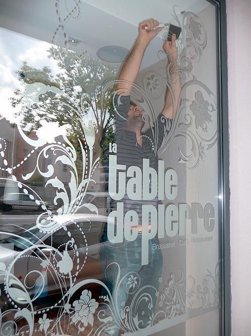 Adhésif dépoli pour décoration de vitrine - PubImage 3c994be3d7aa